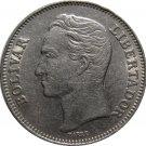1967 Venezuela 1 Bolivar