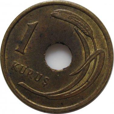 Turkey 1951 1 Kurus