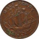 1959 Great Britain Half Penny