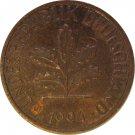 1994 J Germany 1 Pfennig