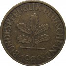 1989 F Germany 10 Pfennig