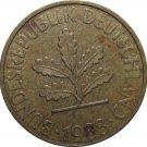 1988 J Germany 10 Pfennig