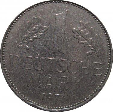 1975 F Germany 1 Mark