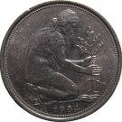 1984 D Germany 50 Pfennig