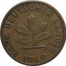 1949 G Germany 5 Pfennig