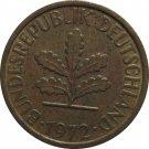 1972 D Germany 5 Pfennig