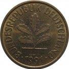 1991 F Germany 5 Pfennig