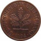 1994 J Germany 2 Pfennig