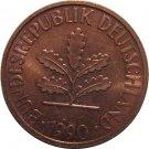 1990 G Germany 2 Pfennig