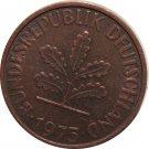 1975 D Germany 2 Pfennig