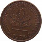 1975 J Germany 2 Pfennig