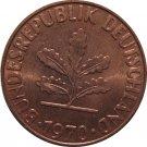 1970 J Germany 2 Pfennig