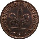 1966 G Germany 2 Pfennig