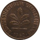 1962 G Germany 2 Pfennig