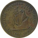 1955 East Caribbean State 5 Cent
