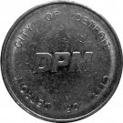 City of Detroit Transportation token