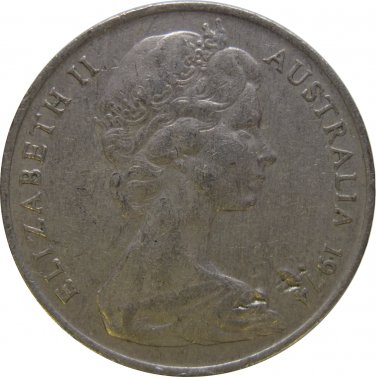 1974 Australia 10 Cent