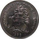 1985 Bahamas 25 Cents