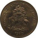 1980 Bahama 1 Cent