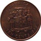 1995  Jamaica Ten Cents