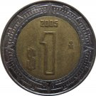2005 Mexico 1 Peso