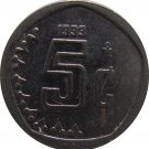 1993 Mexico 5 Centavos