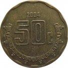 2004 Mexico 50 Centavos
