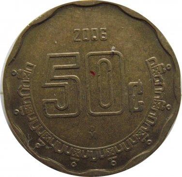 2006 Mexico 50 Centavos