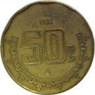 1997 Mexico 50 Centavos
