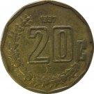 1997 Mexico 20 Centavos