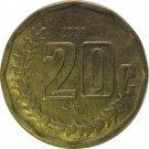2000 Mexico 20 Centavos