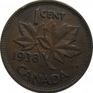 1938 Canadian Cent