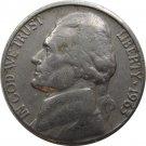 1963 D Jefferson Nickel (Whitman)