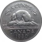 1980 Canadian 5 Cent