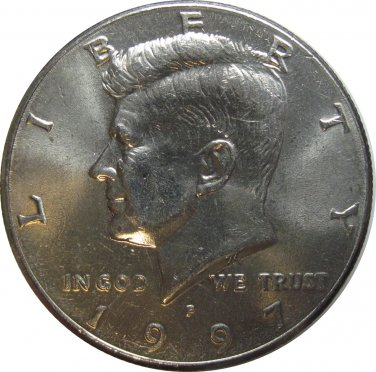 1997 P Kennedy Half (dan)