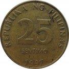 1997 Philippine 25 Centavo