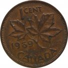 1969 Canadian Cent