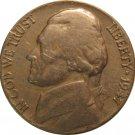 1947 Jefferson Nickel (Whitman)