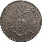 1969 Bahama 5 Cent