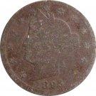 Liberty Nickel 1893 Filler