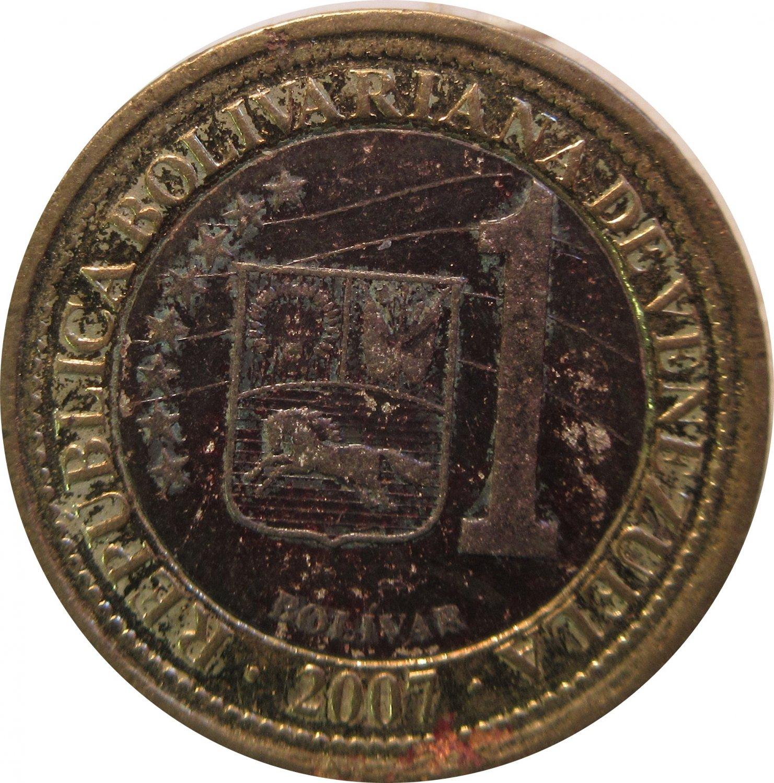 Venezuela 1 Bolivar 2007