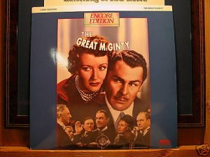 LD Classic THE GREAT McGINTY (1940) Brian Donlevy FS Encore Edition Classic LD