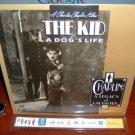 Laserdisc THE KID and A DOG'S LIFE (1921) Charlie Chaplin Film CAV Silent Classic LD