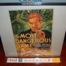 Laserdisc  THE MOST DANGEROUS GAME (1932) Joel McCrea Lot#2 SEALED UNOPENED Classic LD
