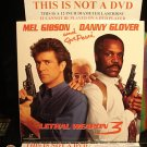 Laserdisc LETHAL WEAPON 3 1992 Mel Gibson Lot#4 LTBX LD