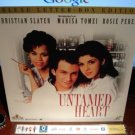 Laserdisc UNTAMED HEART 1993 Marisa Tomei DLX LTBX LD