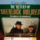 Laserdisc THE RETURN OF SHERLOCK HOLMES: The Hound of Baskervilles 1984 Lot#2 FS LD