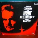 Laserdisc THE HUNT FOR RED OCTOBER 1990 Sean Connery Lot#10 LTBX LD