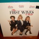 Laserdisc THE FIRST WIVES CLUB 1996 Bette Midler Lot#2 LTBX LD