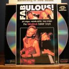 Laserdisc THE FABULOUS BAKER BOYS 1989 Jeff Bridges FS LD